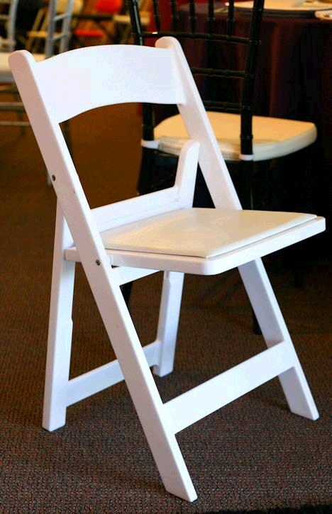 Where to find Chair, Polywood w padded seat in San Dimas