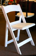 Where to rent Chair, Polywood w padded seat in San Dimas CA