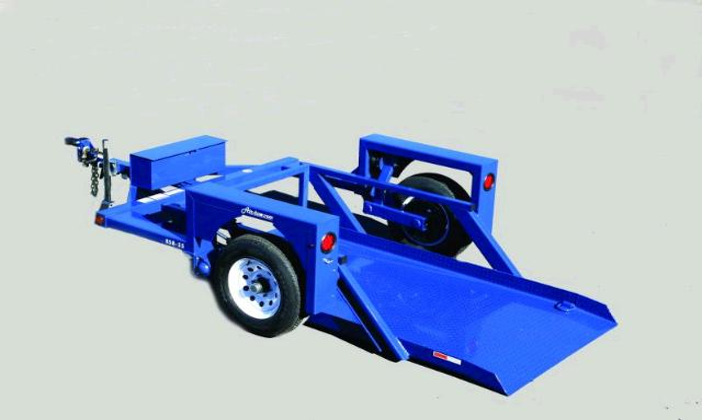 Trailer Drop Deck Single Axle Air Tow Rentals San Dimas Ca